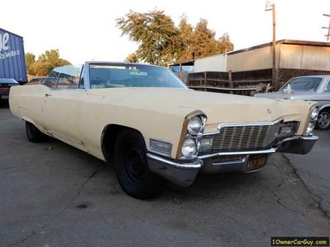 1968 Cadillac DeVille for sale at 1 Owner Car Guy in Stevensville MT