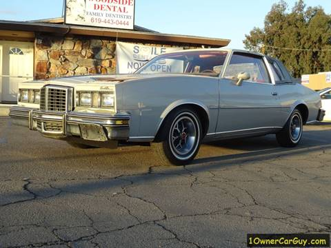 1979 Pontiac Grand Prix for sale in El Cajon, CA
