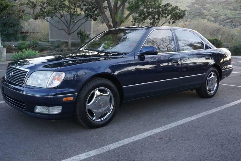 1999 Lexus LS 400 for sale at 1 Owner Car Guy in Stevensville MT