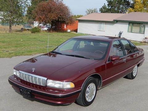 1991 Chevrolet Caprice for sale at 1 Owner Car Guy in Stevensville MT