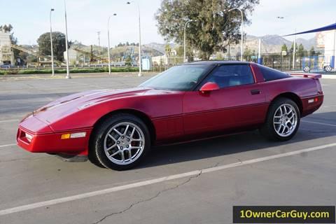 1989 Chevrolet Corvette for sale at 1 Owner Car Guy in Stevensville MT