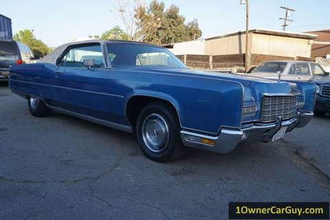 1972 Lincoln Continental for sale at 1 Owner Car Guy in Stevensville MT