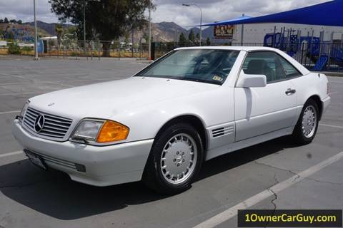 1992 Mercedes-Benz 500-Class for sale at 1 Owner Car Guy in Stevensville MT