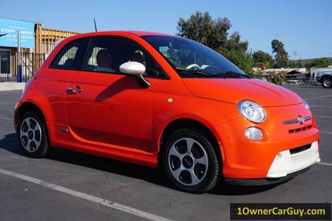 2015 FIAT 500e for sale at 1 Owner Car Guy in Stevensville MT