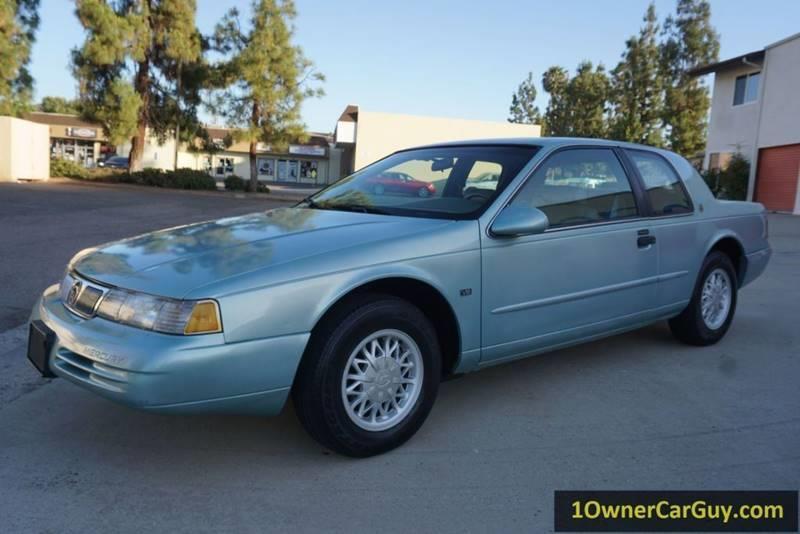 1994 mercury cougar xr7 2dr coupe in stevensville mt 1 owner car guy 1994 mercury cougar xr7 2dr coupe in