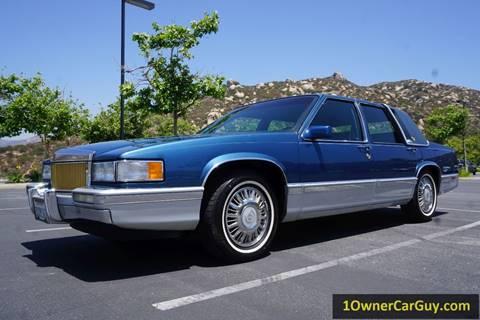 1993 Cadillac DeVille for sale at 1 Owner Car Guy in Stevensville MT