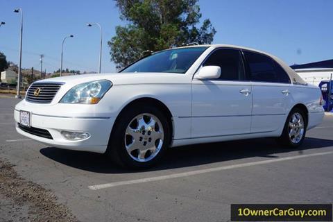 2001 Lexus LS 430 for sale at 1 Owner Car Guy in Stevensville MT