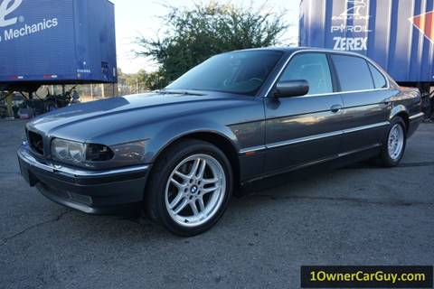 2000 BMW 7 Series for sale at 1 Owner Car Guy in Stevensville MT