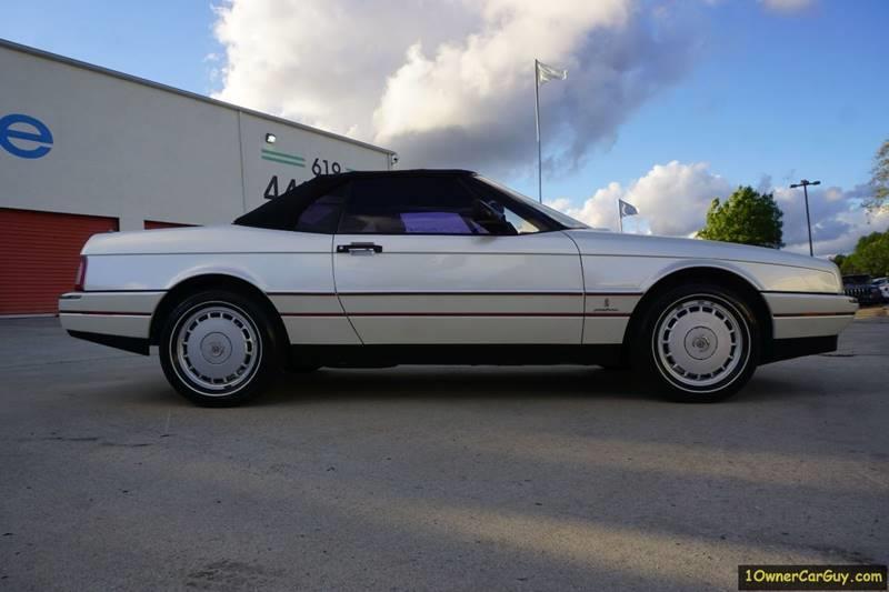 1989 Cadillac Allante 2dr Convertible - Stevensville MT