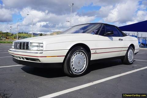 1989 Cadillac Allante for sale at 1 Owner Car Guy in Stevensville MT