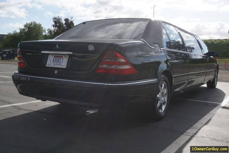 1997 Mercedes-Benz Limousine / Livery / Limo W140 Limousine