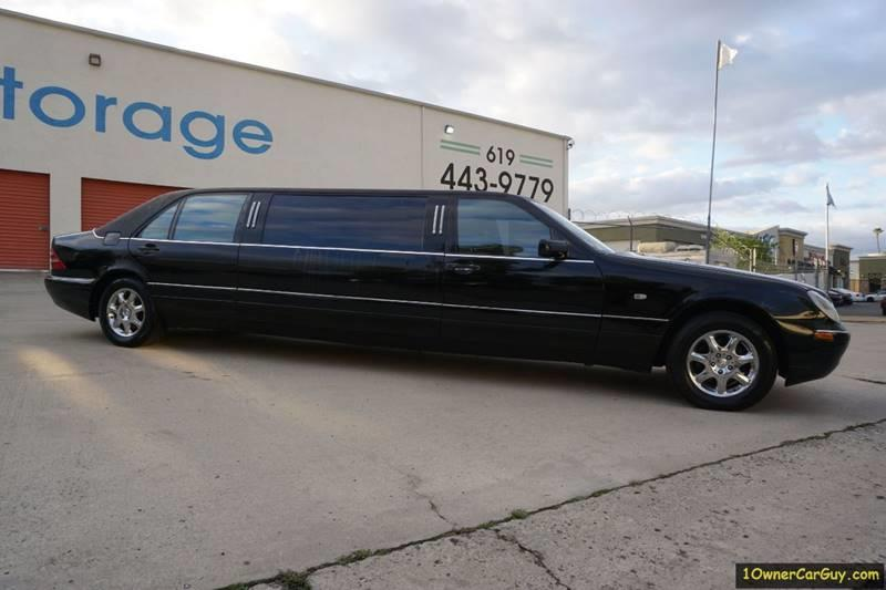 1997 Mercedes-Benz Limousine / Livery / Limo W140 Limousine / Livery / Limo W140 S420 S500 S600 W220 - Stevensville MT
