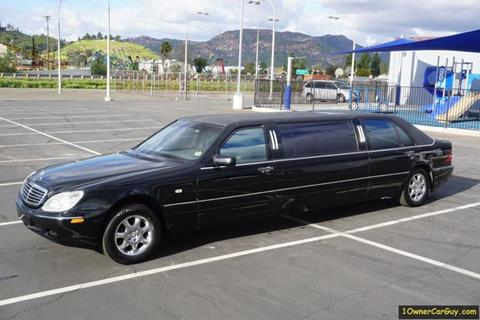 1997 Mercedes-Benz Limousine / Livery / Limo W140 for sale at 1 Owner Car Guy in Stevensville MT