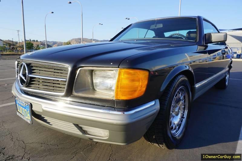 1985 Mercedes-Benz 500-Class 500 SEC 2dr Coupe - Stevensville MT