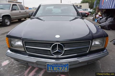 1985 Mercedes-Benz 500-Class for sale at 1 Owner Car Guy in Stevensville MT