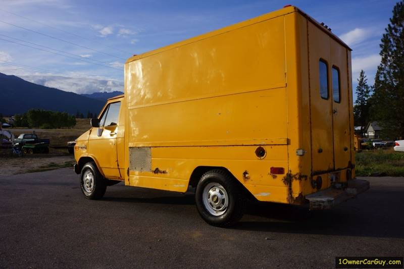 1981 Chevrolet G30 Commercial Box Van / Storage  - Stevensville MT