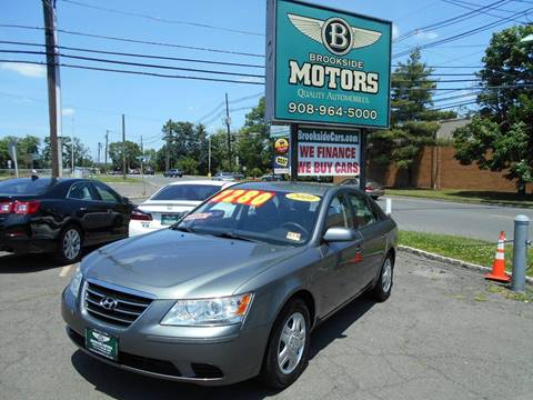 2010 Hyundai Sonata for sale at Brookside Motors in Union NJ