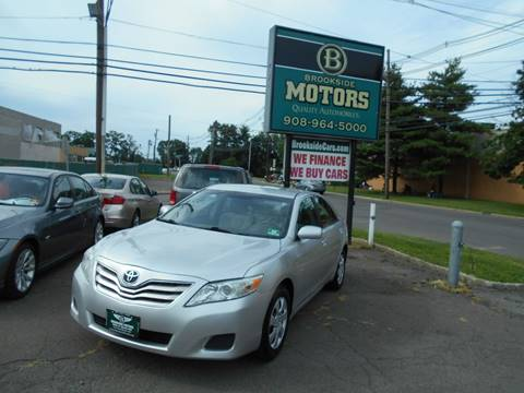2010 Toyota Camry for sale at Brookside Motors in Union NJ