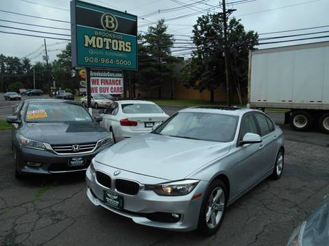 2013 BMW 3 Series for sale at Brookside Motors in Union NJ