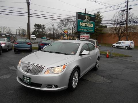 2012 Buick LaCrosse for sale at Brookside Motors in Union NJ