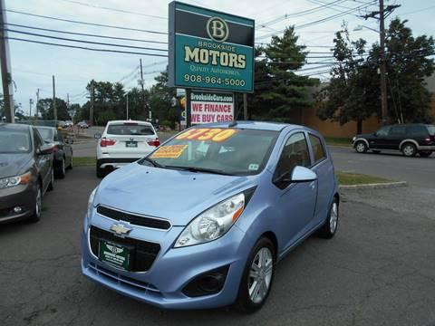 2014 Chevrolet Spark for sale at Brookside Motors in Union NJ