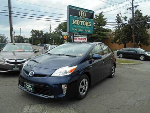 2012 Toyota Prius for sale at Brookside Motors in Union NJ