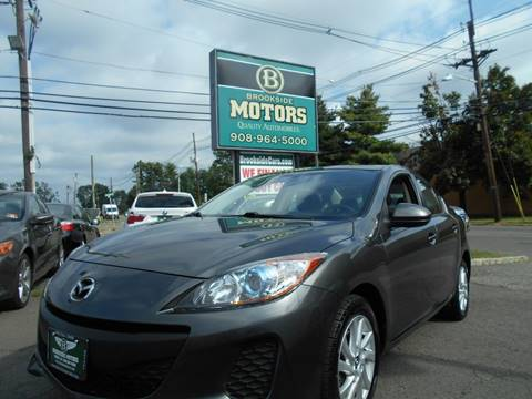 2013 Mazda MAZDA3 for sale at Brookside Motors in Union NJ