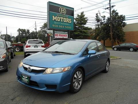 2010 Honda Civic for sale at Brookside Motors in Union NJ