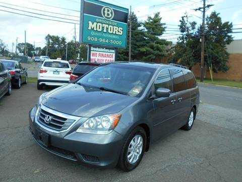 2010 Honda Odyssey for sale at Brookside Motors in Union NJ