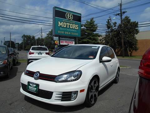2012 Volkswagen GTI for sale at Brookside Motors in Union NJ