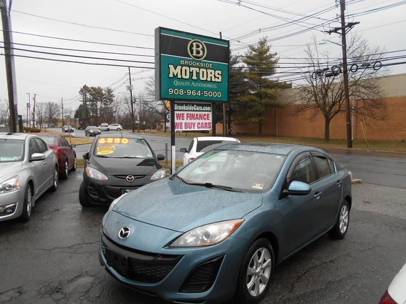 2011 Mazda MAZDA3 for sale at Brookside Motors in Union NJ