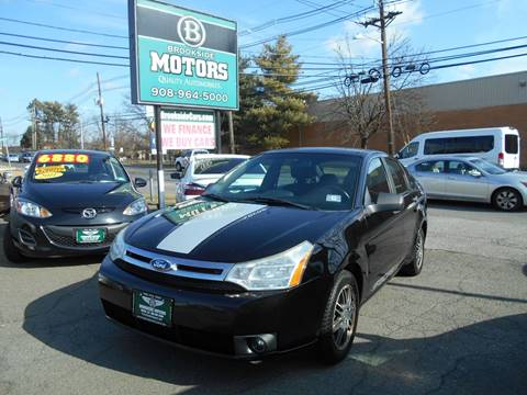 2011 Ford Focus for sale at Brookside Motors in Union NJ