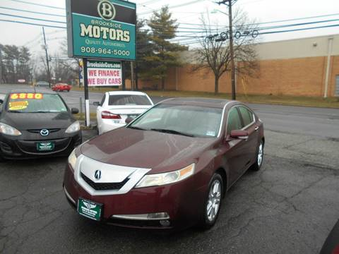 2010 Acura TL for sale at Brookside Motors in Union NJ