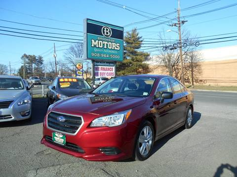 2015 Subaru Legacy for sale at Brookside Motors in Union NJ