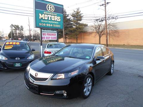 2012 Acura TL for sale at Brookside Motors in Union NJ