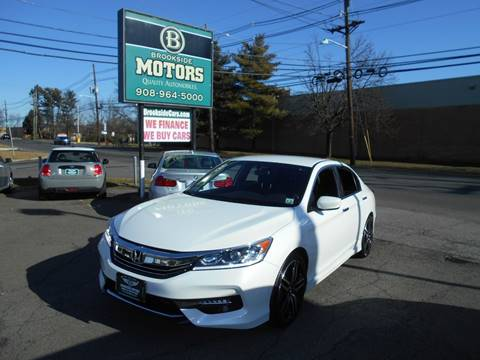 2017 Honda Accord for sale at Brookside Motors in Union NJ