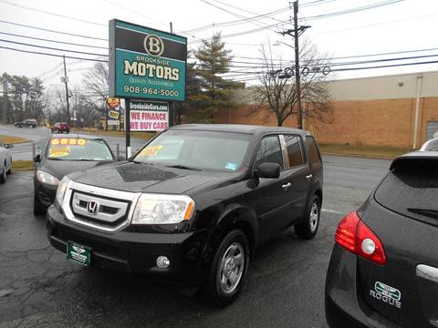 2011 Honda Pilot for sale at Brookside Motors in Union NJ