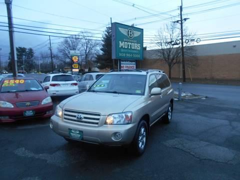 2006 Toyota Highlander for sale in Union NJ