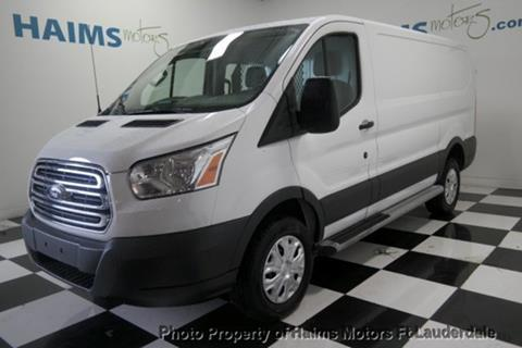 c6d3337e0d 2015 Ford Transit Cargo for sale in Lauderdale Lakes