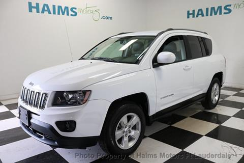 2016 Jeep Compass for sale in Lauderdale Lakes, FL