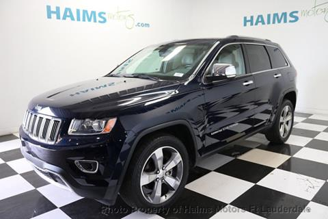 2014 Jeep Grand Cherokee for sale in Lauderdale Lakes, FL