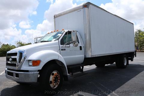 2007 Ford F-650 Super Duty for sale in Lauderdale Lakes, FL