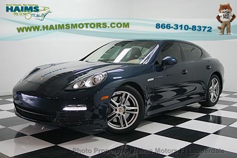 2011 Porsche Panamera for sale in Lauderdale Lakes, FL