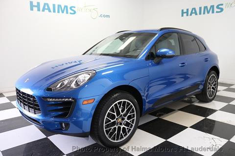 2016 Porsche Macan for sale in Lauderdale Lakes, FL