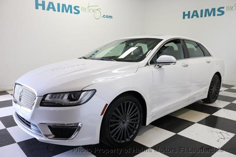 2017 Lincoln MKZ for sale in Lauderdale Lakes, FL