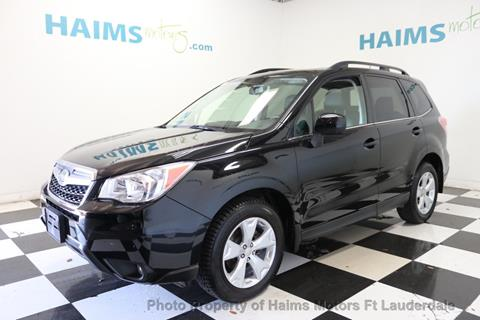 2015 Subaru Forester for sale in Lauderdale Lakes, FL