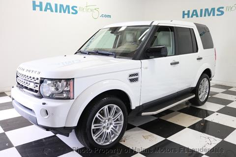 2012 Land Rover LR4 for sale in Lauderdale Lakes, FL