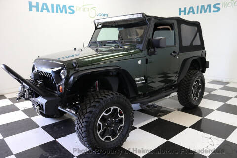 2011 Jeep Wrangler for sale in Lauderdale Lakes, FL