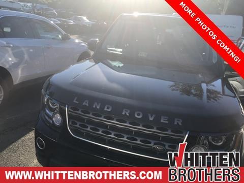 2016 Land Rover LR4 for sale in Ashland, VA