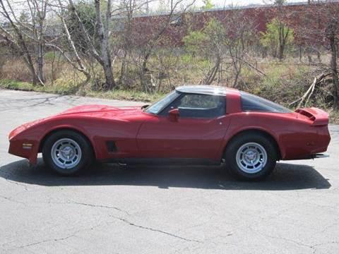 1981 Chevrolet Corvette for sale at Hart's Classics Inc in Oxford ME